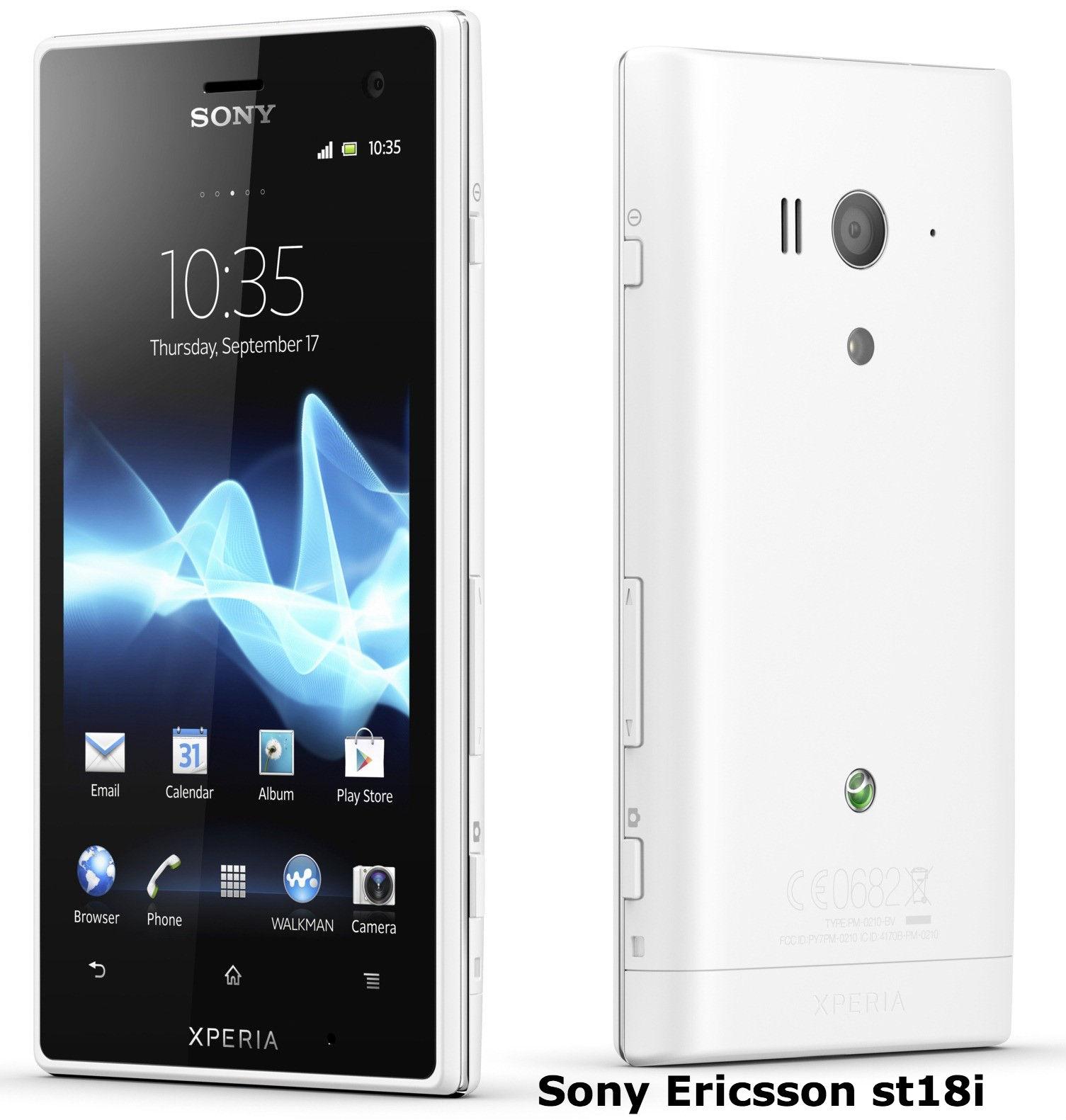 Hard reset Sony Ericsson ST18i