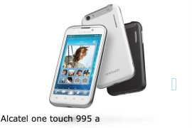 Hard Reset Alcatel One Touch 995 A