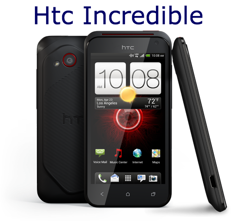 Hard Reset HTC Incredible