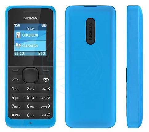 Hard reset Nokia 105 Cyan