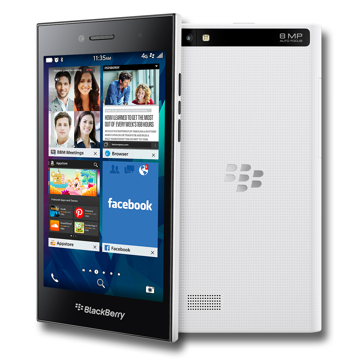 Hard reset Blackberry Leap