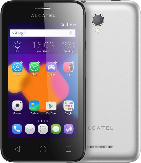 Hard reset Alcatel One Touch Pixi First 4024D